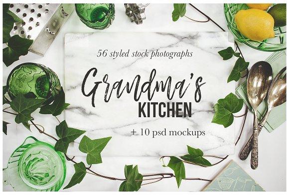 Grandma's Kitchen Photography Bundle