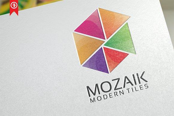 Mozaik Abstract Logo Template