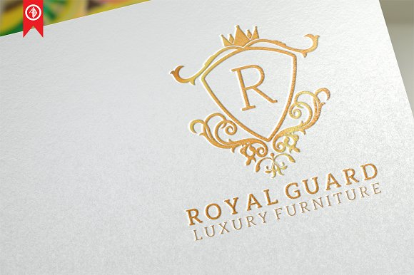 Royal Guard Letter R Logo