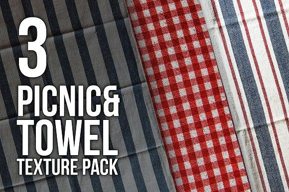 Picnic Towel HD Texture Pack