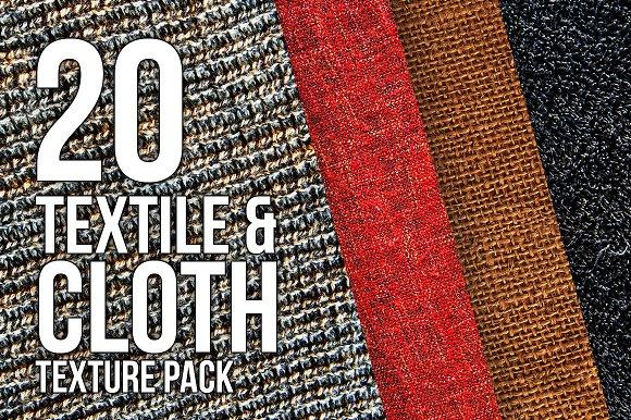 Cloth & Textile - HD Texture Pack