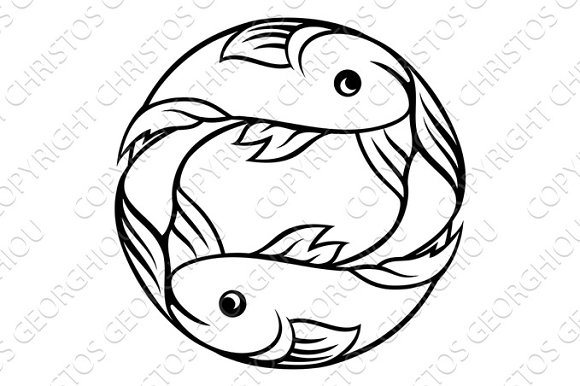 Zodiac Signs Pisces Fish