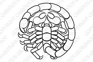 Scorpio Scorpion Astrology Horoscope Zodiac Sign