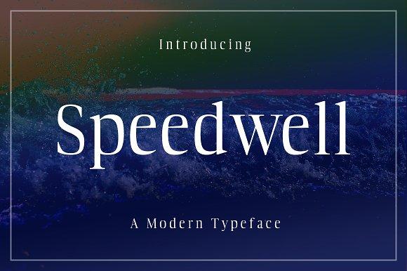 Speedwell Typeface