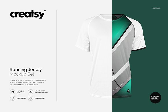 Download Running Jersey Mockup Set Shirt Mockups Free Download