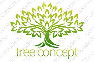 Tree Icon Concept