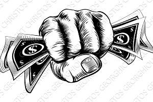 Cash Money Fist Hand