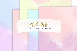 ombre cloud paper pack