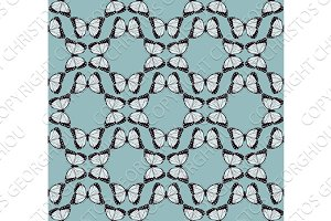 Butterfly Background Pattern