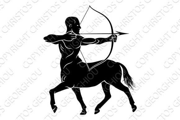 Stylised Centaur Archer