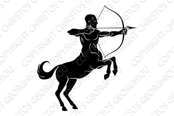 Rearing Centaur Archer
