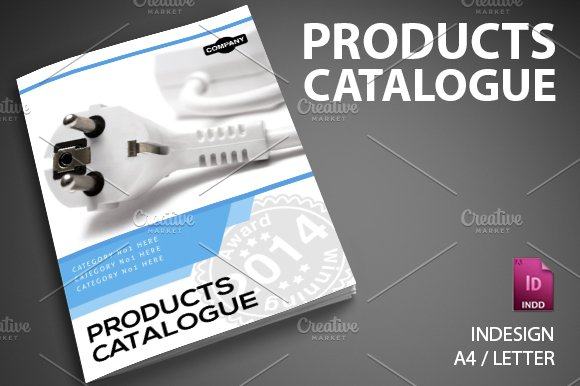 Product catalog 6 brochure templates creative market for Catalogue staff decor pdf