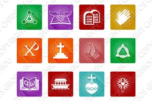 Christian Icon Symbols