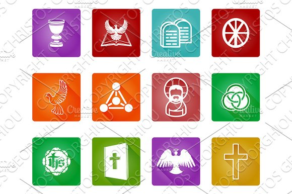 Christian Religion Icons