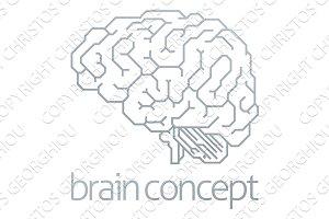 Brain Profile Concept