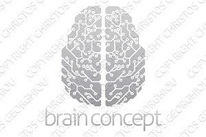Abstract electronic brain