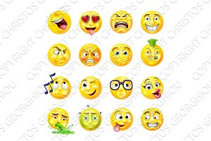 Emoji Emoticon Set
