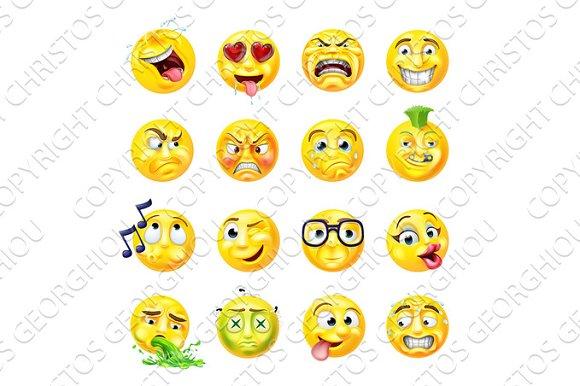 Emoji Emoticon Set
