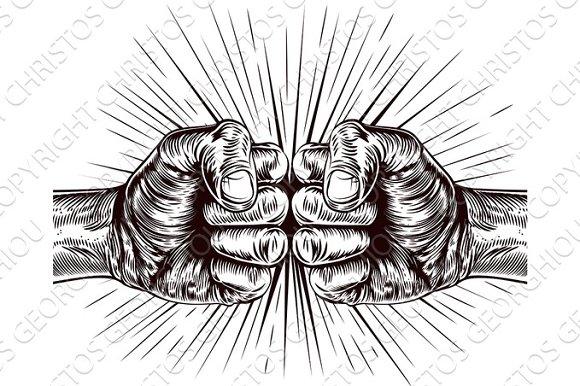 Fists Punching