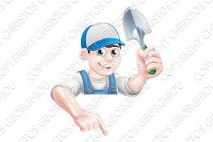 Gardening Mascot