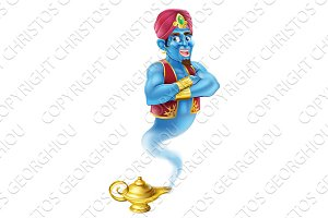 Cartoon Genie