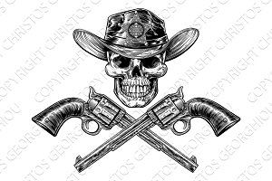 Wild West Jolly Roger Sheriff