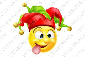 Court Jester Emoji Emoticon