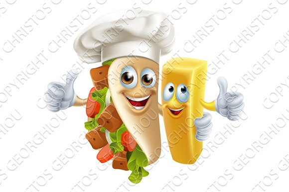 Kebab And Chip Friends