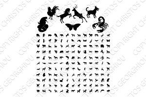 Animal Silhouettes Bundle