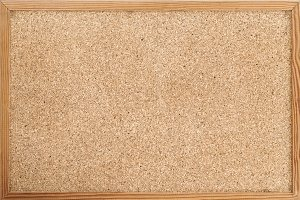 Cork pin board texture