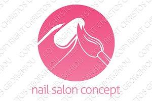 Nail Technician concept