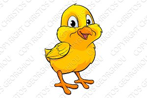 Cartoon Easter Chick