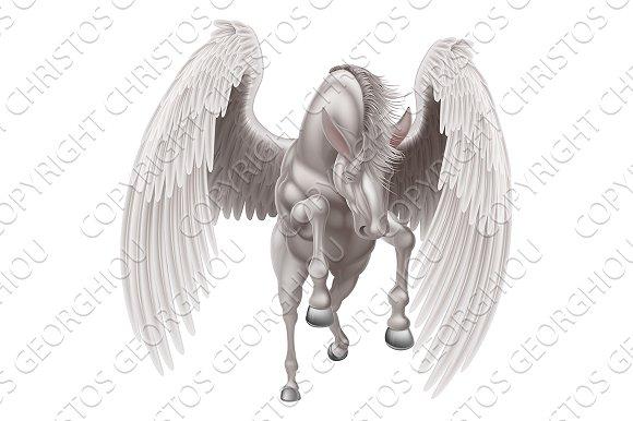 Pegasus Winged Horse