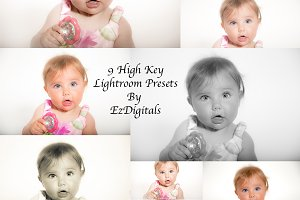 10 High Key Lightroom Presets