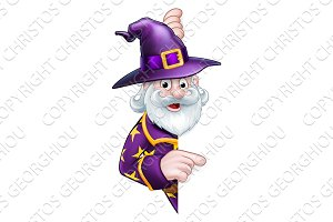 Cartoon Halloween Wizard