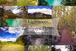 10 Landscape Lightroom Presets