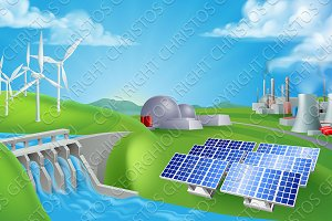 Energy Power Generation Sources