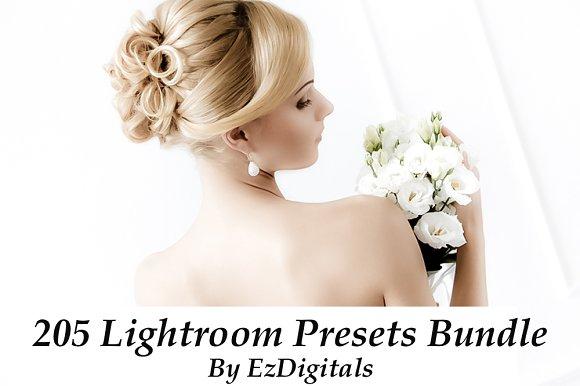205 Lightroom Presets Bundle
