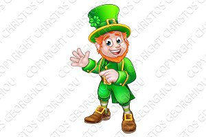 Saint Patricks Day Leprechaun