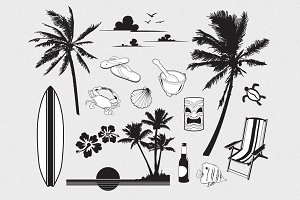 Tropical Vector Pack