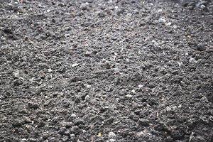 dry stony ground