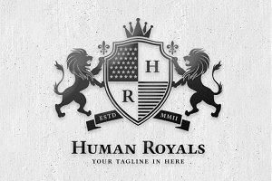 Human Royals Logo