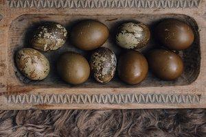 Rustic Easter Eggs