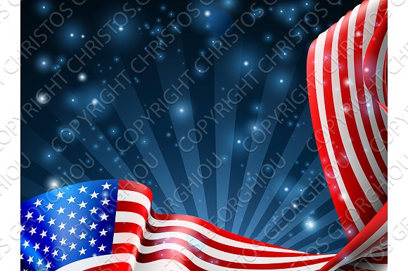 american flag background design illustrations creative market