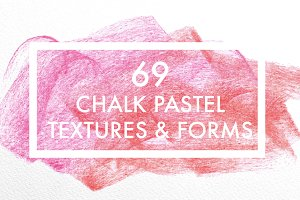 Pastel textures backgrounds & forms