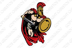 Spartan Roman or Trojan Gladiator Ancient Greek Warrior