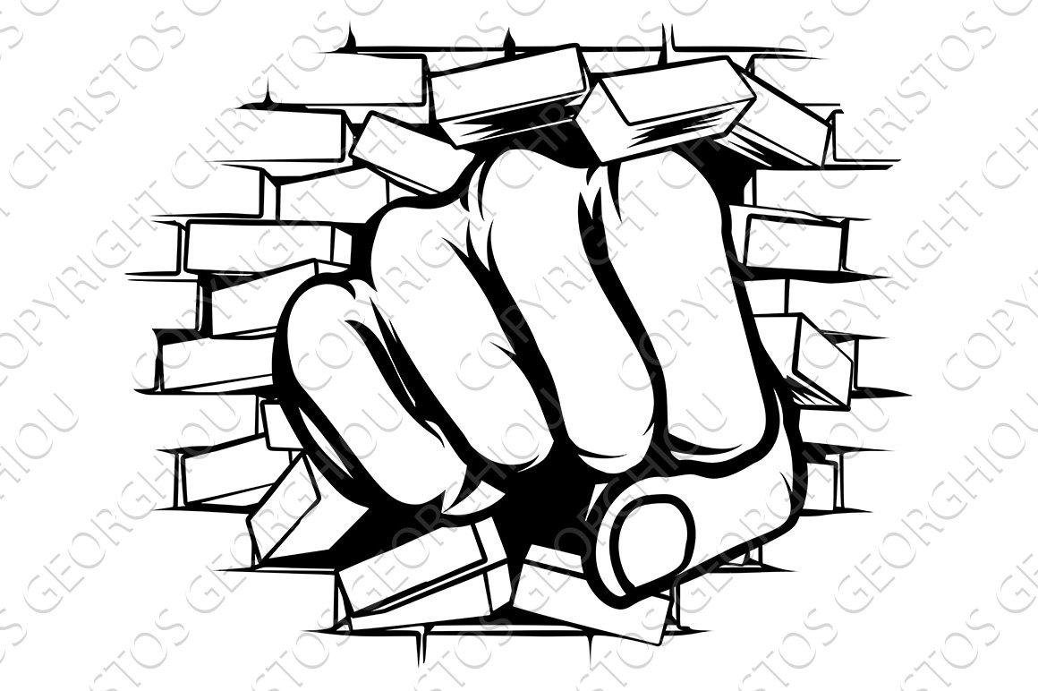 Plated fist of hakoo
