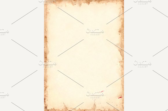 Grunge Retro Paper Sheet Background