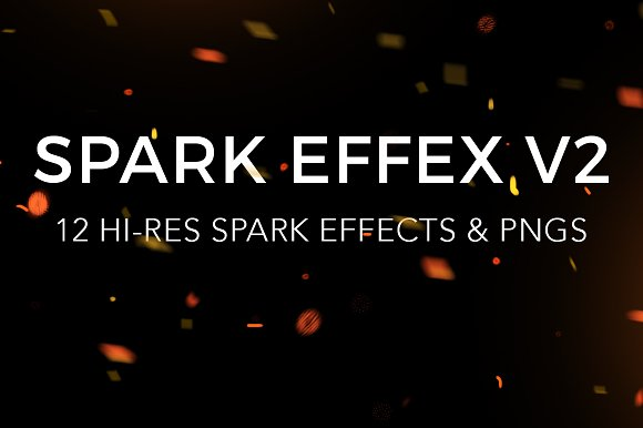 Spark Effex V2 Spark Effects PNGs