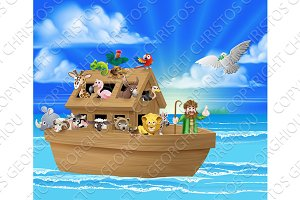 Cartoon Noahs Ark